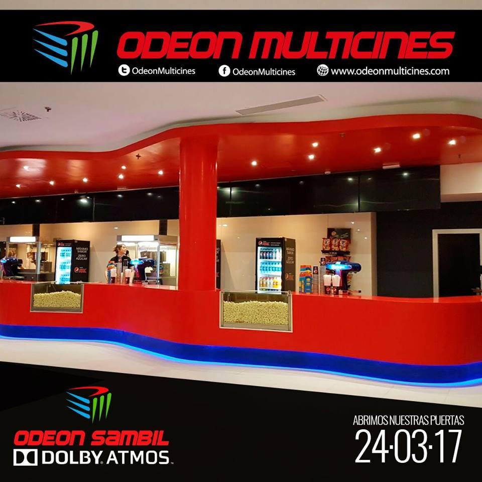 Мультиплекс с технологией Dolby Atmos в Испании: Odeon Multicines