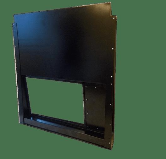 Проекционное окно с противопожарной заслонкой ЗПУ-ПО-1