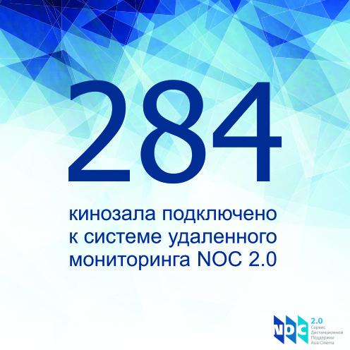 284 кинозала с NOC 2.0
