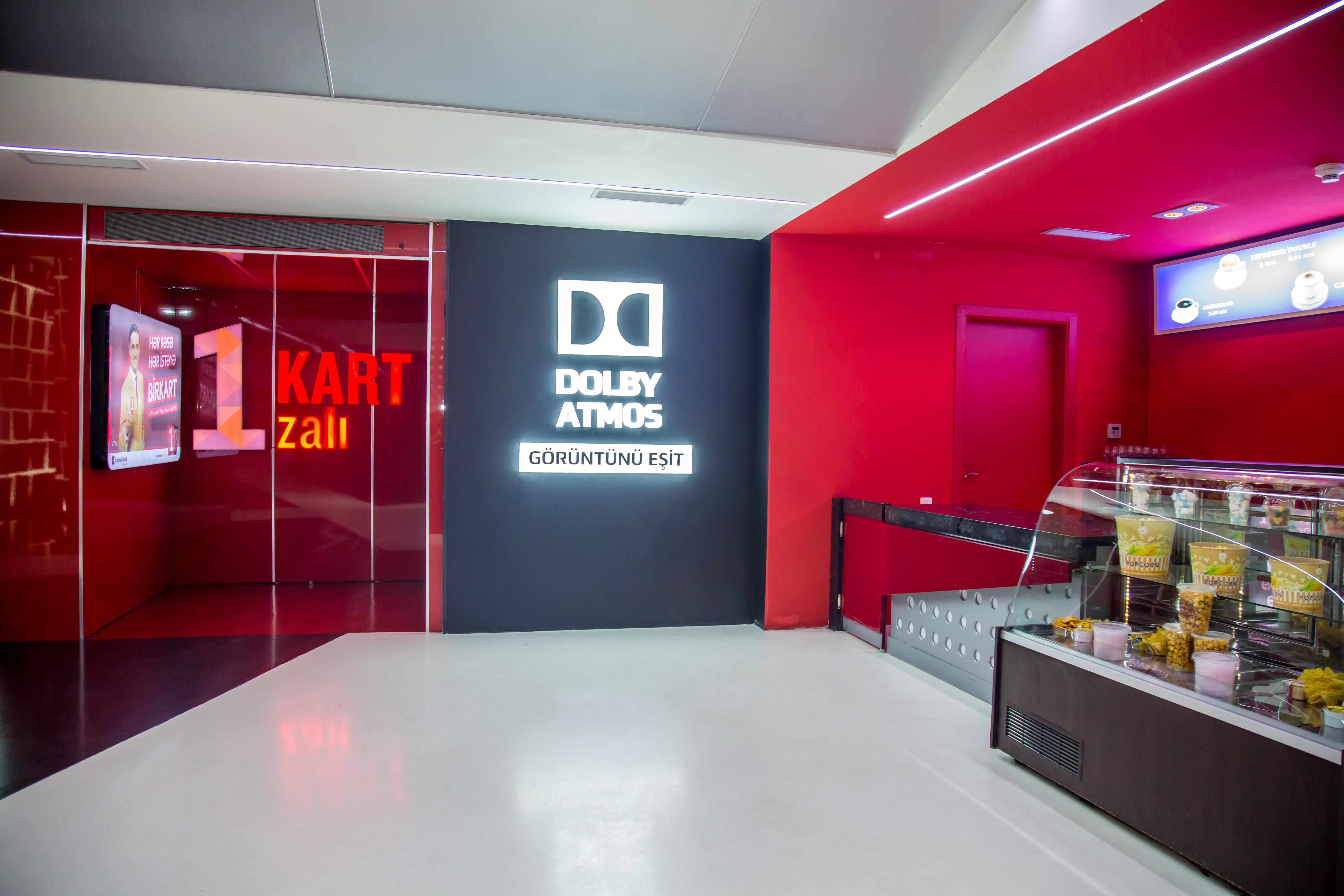 Парад кинотеатров Asia Cinema: «Парк Синема Метропарк» в городе Баку — 150-й зал, оборудованный системой Dolby Atmos на территории России и стран СНГ.