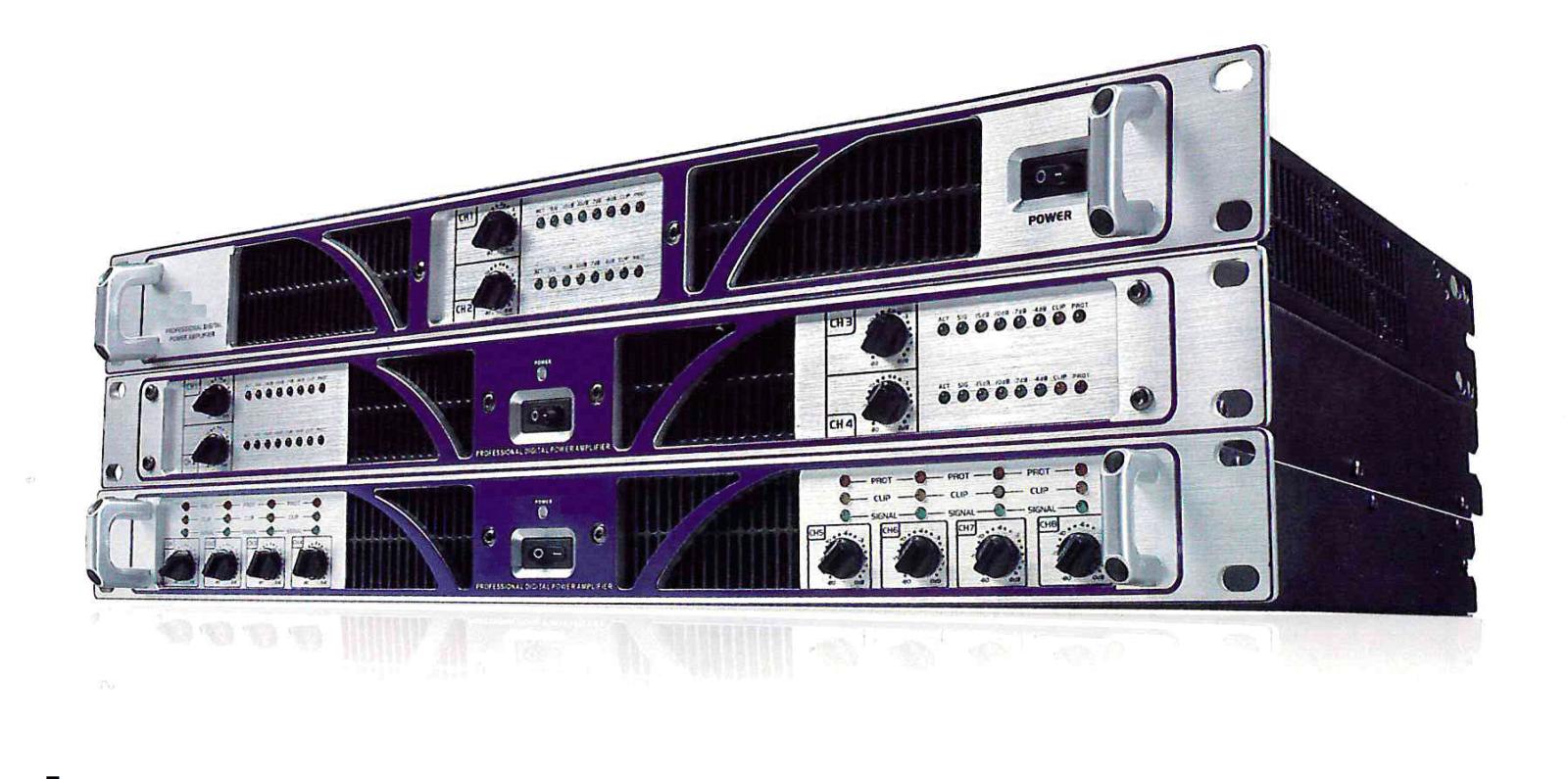 Eurosound цифровой мультиканальный усилитель DMA